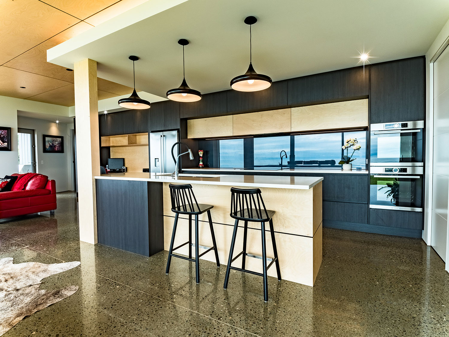 Modern Kitchen Design and custom bench tops